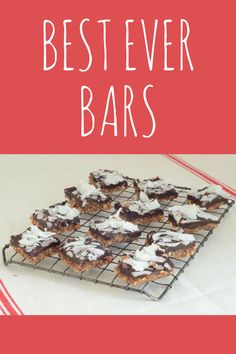 Paleo Best Ever Bars are made with just 6 healthy ingredients --almonds, coconut…