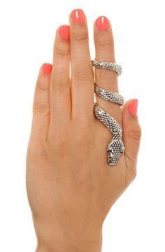 Snake ring #PruneForJune