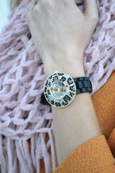 Lacy Rose in a Deb Shops leopard watch! #blogger #style
