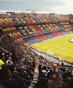Camp Nou Location: Barcelona, Spain Someday i will go to Spain to Camp Nou and i will watch Barca game