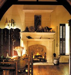 Cast Stone Fireplace Design, Pictures, Remodel, Decor and Ideas - page 3