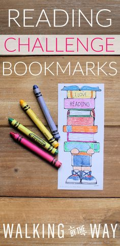 Read a book. Color a book. Repeat until every book on the bookmark is colored! Great for Reading Challenge Bookmarks - Walking by the Way Happy Reading, Student Reading, I Love Reading, Library Books, Library Ideas, Reading Bookmarks, Reading Challenge, Walking By, Childhood Education