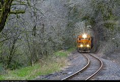 RailPictures.Net Photo: PNWR 3001 Portland & Western Railroad EMD GP40P-2 at Eddyville, Oregon by Joel Hawthorn