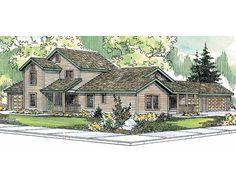 Multi-Family House Plan, 051M-0004