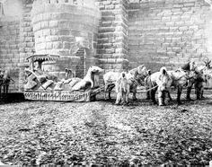 St. Paul Winter Carnival float, 1888