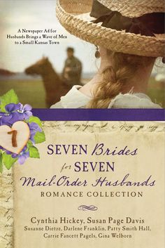 Seven Brides for Seven Mail-Order Husbands / #awordfromJoJo #ChristianFiction #CleanRomance