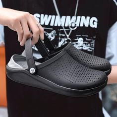 Heel Height Flat Size fit for foot length is Size fit for foot length is Size fit for foot length is Mens Fashion Shoes, Fashion Sandals, Men S Shoes, Men Sandals, Rubber Clogs, Rubber Sandals, Unisex, Mens Slippers, Beach Shoes
