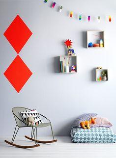Kids room design.