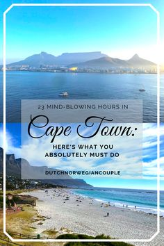 We travellers can not stop dreaming! Are you squirming in your seat wanting to explore more of the world? Then read this post about Cape Town to ease your mind. South African Wine, Cape Town Hotels, Table Mountain, Snowy Mountains, Rest Of The World, Walking Tour, Beach Day, Mind Blown, Wonderful Places
