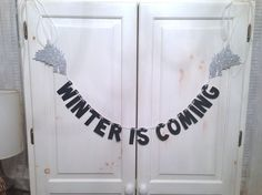 """A Game of Thrones party! Haha! And maybe invites should say """"Dinner Is Coming"""""""