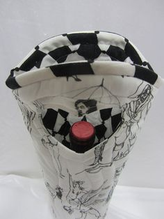 Burlesque strip tease sexy dancers wine bag by Wine2The9s on Etsy, $22.50 UNIQUE ONE OF A KIND BAG!
