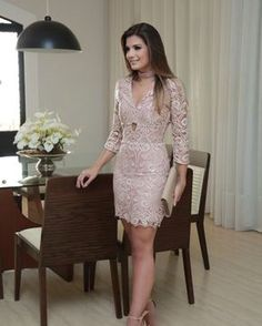 Lace lovers – Pin to pin Grad Dresses, Dresses For Teens, Dress Outfits, Casual Outfits, Formal Dresses, Skirt Fashion, Fashion Dresses, Girly Girl Outfits, Cute Black Dress