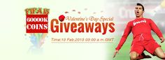Safewow Valentine's Day Special Part 1: 60,000K FIFA 15 Coins Giveaways February 10, 2015 @ 03:00 a.m. GMT  http://www.safewow.com/limit-product