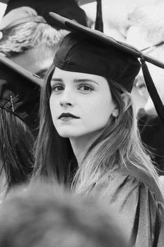 Emma's Watson's Graduation (25.5.2014).