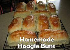 Homemade Hoagie Buns