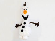 Снеговик Олаф амигуруми