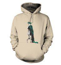 Banksy Tshirts PP - Liberty Girl Hoodie