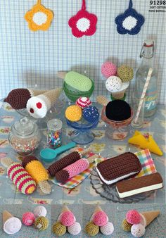 free pattern ~ we will never need real food again