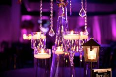 Striking #hanging #candle #centerpieces at this lovely #uplighting #wedding #reception! #diy #diywedding #weddingideas #weddinginspiration #ideas #inspiration #rentmywedding #celebration #weddingreception #party #weddingplanner #event #planning #dreamwedding by @stevieramos