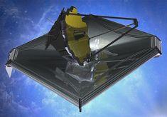 Illustration of the James Webb Space Telescope