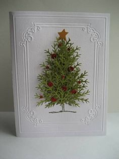 A C Christmas Tree by Tankerton - Cards and Paper Crafts at Splitcoaststampers