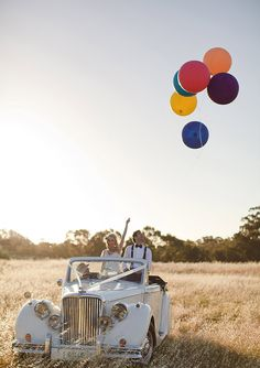 Whimsical Australian wedding | photo by Bayly and Moore. Love this idea!!
