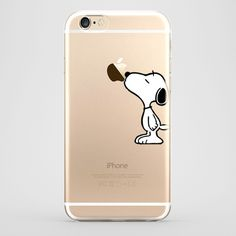 iPhone 6 Snoopy Transparente