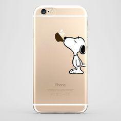 iPhone 6 Snoopy Transparente