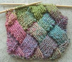 entrelac | Knit One, Blog Two