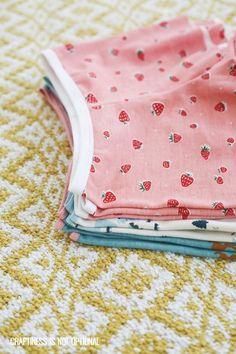 knit pajama shorts free pattern