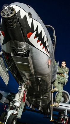 The Fighter Pilot Air Fighter, Fighter Pilot, Fighter Aircraft, Fighter Jets, Female Fighter, Military Jets, Military Weapons, Military Aircraft, Close Air Support