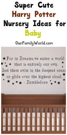 If you are looking for super cute Harry Potter nursery ideas for baby, we have you covered! Check out these super cute ideas!