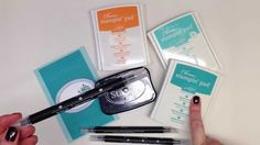Two minute tip using Stampin' Up! Blender Pens