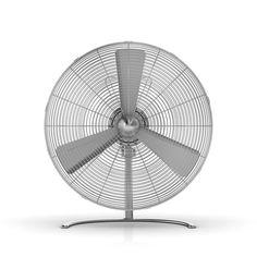 Ventilateur Charly - Rafraîchissez-vous avec style grâce au ventilateur Charly qui use de la forme traditionnelle de l'objet pour proposer un design moderne et tout en rondeur. Puissant, il mélange ainsi les inspirations rétro et contemporaines à travers une silhouette épurée : de quoi passer l'été avec confort en profitant d'un ventilateur au look métallique, idéal pour tous les types d'intérieur !