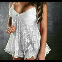 I just discovered this while shopping on Poshmark: New Baby doll lingerie. Check it out!  Size: Large