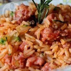 Foto da receita: Arroz apimentado com legumes