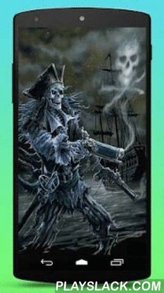 Ghost Pirate Live Wallpaper  Android App - playslack.com ,  Want to be a real pirate? Get this live wallpaper and have fun with your skeleton ghost pirate shipmates!+ Simple app: Just install the app and set as your live wallpaper! You can change the speed the Jolly Roger gunsmoke swirls and wind shakes the pirate skeleton ghost!+ Pirates are cool. Skeleton ghost pirates are even cooler!+ Jolly Roger is the name for the skull and crossbones flags flown to identify a pirate ship about to…
