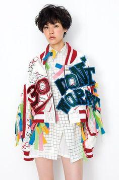 Unique Fashion, Pop Art Fashion, Weird Fashion, Fashion Moda, Colorful Fashion, High Fashion, Fashion Outfits, Womens Fashion, Fashion Tips
