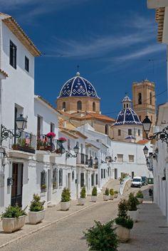 Church and Street in Altea | Altea, Spain / España Comunidad… | Flickr