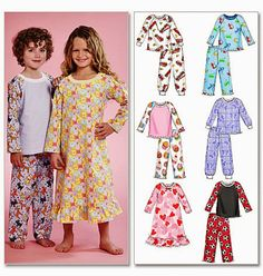 Toddler Pajamas Pattern Toddler PJ's Pattern Toddlers' by blue510