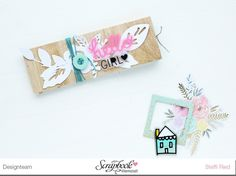 Ein-Blatt-Mini in der SBW Minialbumwerkstatt - Scrap Sweet Scrap