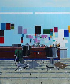 Hurvin Anderson's Paintings – SOCKS