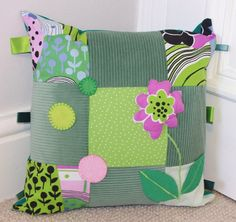 Spring flower cushion £22.00