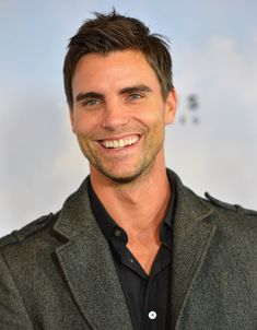 Gentleman of the Week:   Colin Egglesfield   the 40 year old actor/producer from Farmington Hills, Michigan.         This fine man defiantl...