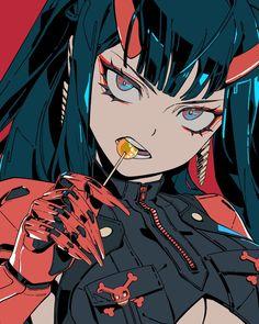 Cyberpunk Anime, Arte Cyberpunk, Cute Anime Character, Character Art, Female Characters, Anime Characters, Wallpaper Animé, All Out Anime, Cyberpunk Aesthetic