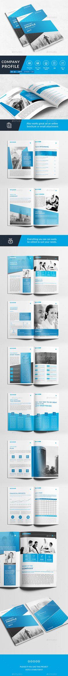 Company Profile - Corporate Brochures | Download: https://graphicriver.net/item/company-profile/18673081?ref=sinzo