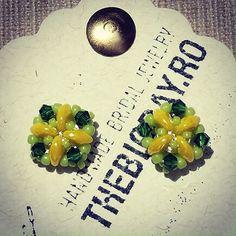 Handmade Beaded Jewelry, Swarovski, Earrings, Ear Rings, Stud Earrings, Ear Jewelry, Hoop Earrings, Pierced Earrings