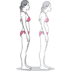 Posture improving stretches.