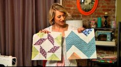 How cool is this? Free quilt class with 2 blocks each month for a year. Great teacher, too. You can save the lessons and did I say, FREE?