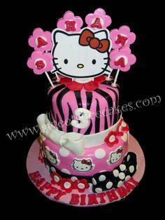 Hello Kitty Whimsical Birthday. All Edible.